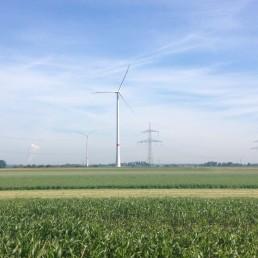 beide Windenergieanlagen, Lamerdingen